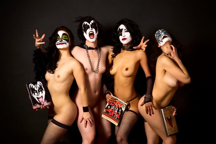 Band with naked girls picture 786