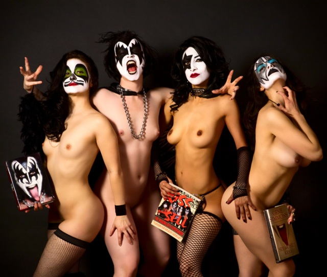 Kiss Naked Girls Rock Photos By Pez  C B Facebook  C B Twitter