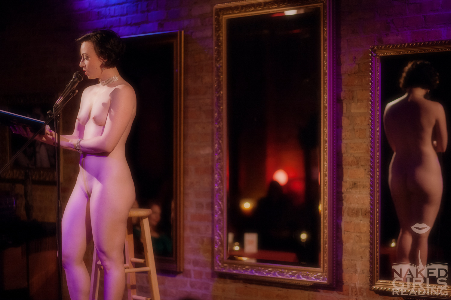 A nude actor, writer, and comedian in las vegas
