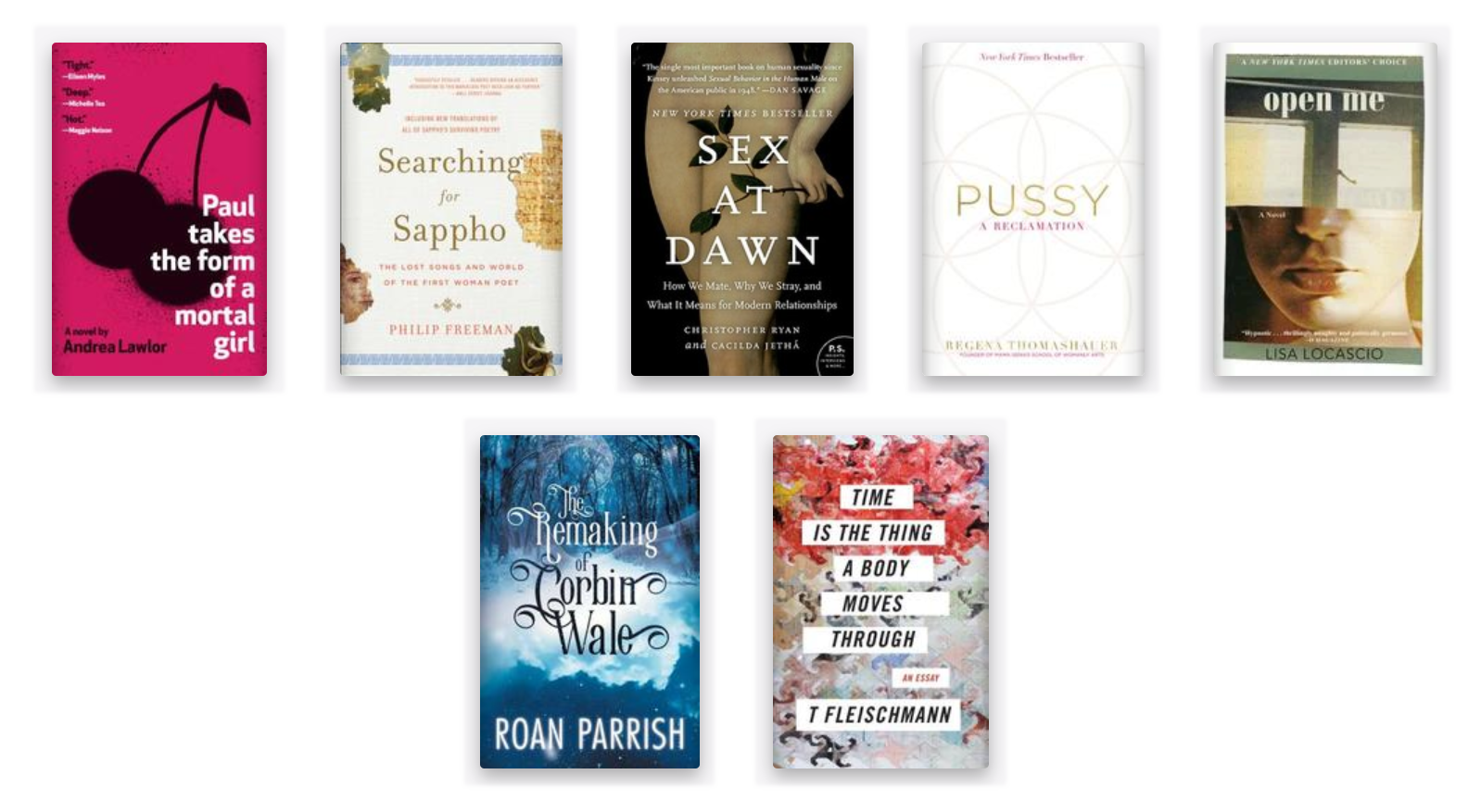 spring reading list